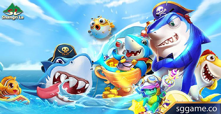เกมยิงปลาออนไลน์ได้เงินจริง-รวมตัวการ์ตูนปลา