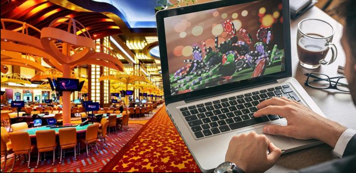 Land based casino-ออนไลน์กับของจริง